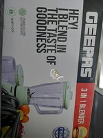 Used Geepas 3 in 1 blender in Dubai, UAE