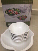 Used Ceramic Salad Bowl Set @30 in Dubai, UAE