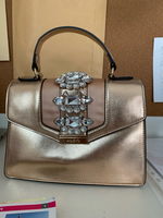 Used Gold bag used once only  in Dubai, UAE