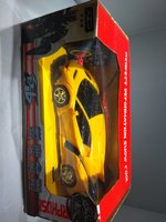 Used Transformer 2 In 1 Rc Car Toy Yellow in Dubai, UAE