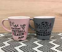 Used Couple Football Coffee Mug (Pair) in Dubai, UAE