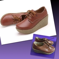 Used Heightening Leather Shoes/35 in Dubai, UAE