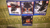 Used PS4 games (4) in Dubai, UAE