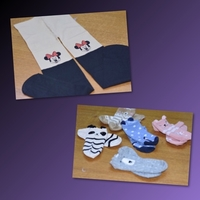Used Mickey Mousse PantyHose & Socks  in Dubai, UAE