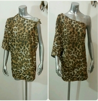 Loose Fit Tiger Top Free Size New