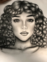 Used Portrait drawings perfect gift!✨ in Dubai, UAE