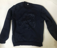 Used Sweat shirt size large (new)dark blue  in Dubai, UAE
