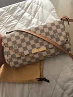 Used Favorite MM Damier Azur Bag in Dubai, UAE
