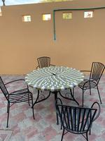 Used Garden table and chair in Dubai, UAE