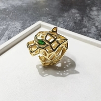 Used Real gold plated ring new in Dubai, UAE