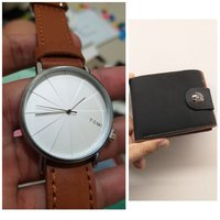 Used Original TOMI Watch《 🆓️ Leather Wallet in Dubai, UAE