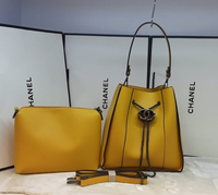 Used Chanel Bag black and Yellow in Dubai, UAE