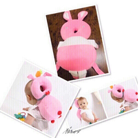 Used Baby Anti Fall headrest Rabbit Pink♏️ in Dubai, UAE