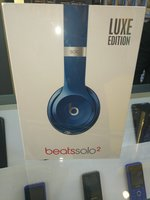 Used Beats Solo 2 Blue LUXE EDITION (wired) in Dubai, UAE