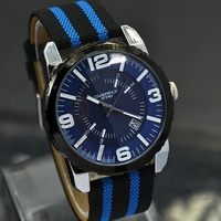 men watch with fabric band