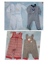 Used 0-6 months baby winter clothes in Dubai, UAE
