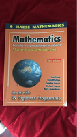 Used IB - Math Studies SL textbook in Dubai, UAE