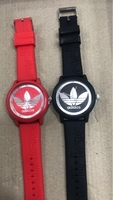 Used 2pc adidas combo watch red and black in Dubai, UAE