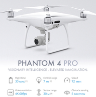 Used Dji Phantom 4 Pro Never Used Under Warranty -Vergin Electronics  in Dubai, UAE