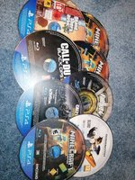 Used 8 ps4 games 1 or more might be working in Dubai, UAE