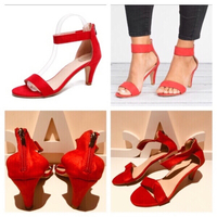 Used Red sandals size 35  in Dubai, UAE