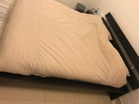 Used Bed frame and/or mattress king size in Dubai, UAE