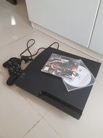 Sony PS3 with 2 games and 1 controller