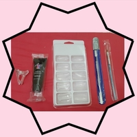 Used Perfect nail set and nail polish in Dubai, UAE