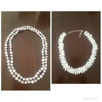 Used Buy long pearl necklace get 1 free in Dubai, UAE