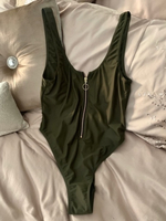 Used Khaki Zip Swimming Costume in Dubai, UAE