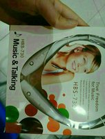 Used Black Earphone Neckband Wireless New BT in Dubai, UAE