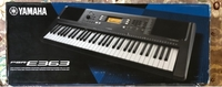 Used Piano Keyboard Yamaha PSR-E363  in Dubai, UAE