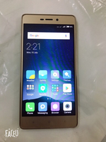 Used xiaomi  note 3  16GB GOLD COLOR  in Dubai, UAE