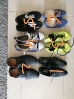 Used Men and women used shoes 6 Pairs in Dubai, UAE