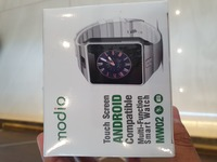 Used Smart watch n.e.w black .. in Dubai, UAE