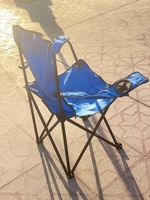 Used Camping Chair , Light Blue in Dubai, UAE
