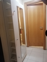 Used Shoe cabinet with 2 meters mirror in Dubai, UAE