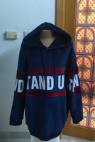 Used XLarge Plus Size Male Stand Up Hoodie  in Dubai, UAE