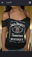 Cool black tshirt size L