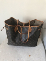 Used LV LEATHER BAG WITH CODE(BIG SIZE) in Dubai, UAE