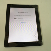 Apple iPad 2 screen broken iCloud