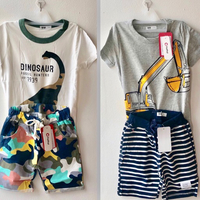Used 2 sets of Boys Tops & Shorts in Dubai, UAE