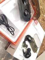 Used JBL headphone higher bazz copy black.,., in Dubai, UAE