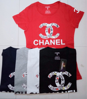 Used T-shirt channel for ladies 5pcs Large in Dubai, UAE