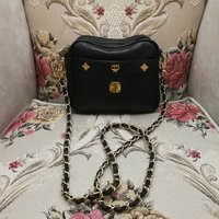 Used MCM REAL LEATHER BAG.. ORIGINAL.. in Dubai, UAE