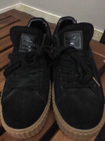 Used Puma black shoes in Dubai, UAE