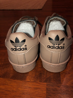 Used Adidas Superstar Beige Size 38/US 6(1/2) in Dubai, UAE