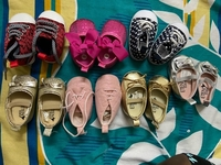 Used NEW BABY SHOES 0-6 and 6-12 months in Dubai, UAE