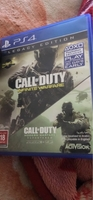 Used Ps4 GOD OF WAR AND CALL OF DUTY:infinite in Dubai, UAE