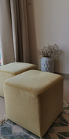 Used Two lovely ottoman puffs  in Dubai, UAE